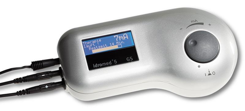Idromed dispositivo de tratamiento ionforesis podologo malaga