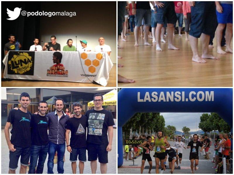 podologo malaga en el encuentro barefoot running
