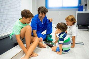 clinica de podologia malaga victor hidalgo