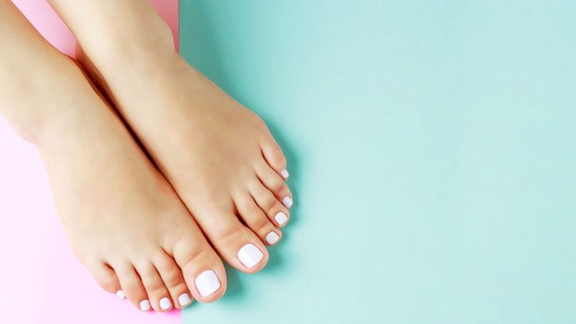 Reconstruir uñas de los pies